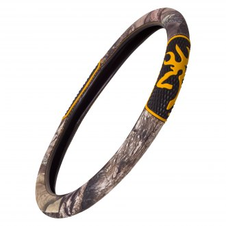 Browning Lifestyle® - Diamond Buckmark Steering Wheel Cover