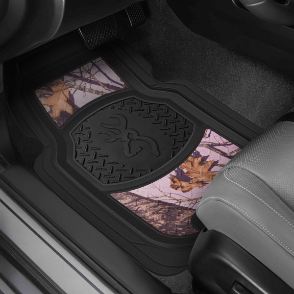 Browning Lifestyle® - Bullet Plate Buckmark Mossy Oak Break Up Pink Floor Mats