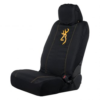 Browning Lifestyle® - Classic Low Back Black/Gold Seat Cover