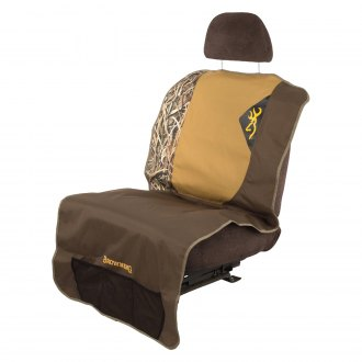 Browning Lifestyle® - Camo One Size Teak/Mossy Oak Blades Dog Seat Cover