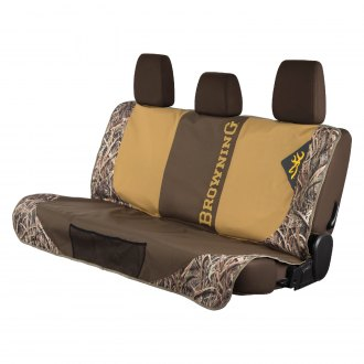 Browning Lifestyle® - Mossy Oak™ Shadow Grass Blades Bench Camo Dog Seat Cover