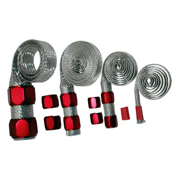 BTP® - Red A/C Hose Sleeving Kit
