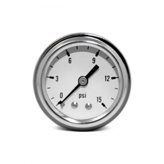 BTP® - In-Dash White Face Fuel Pressure Mechanical Gauge