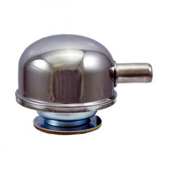 BTP® - Chrome Steel Twist-On with Tube Breather Cap