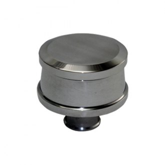 BTP® - Polished Aluminum Push-In Smooth Breather Cap