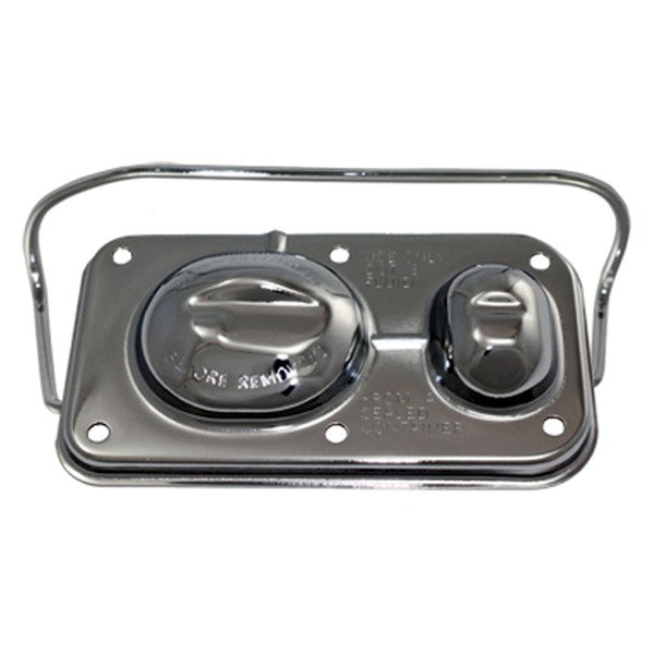 BTP® - Chrome Single Bail Master Cylinder Cover