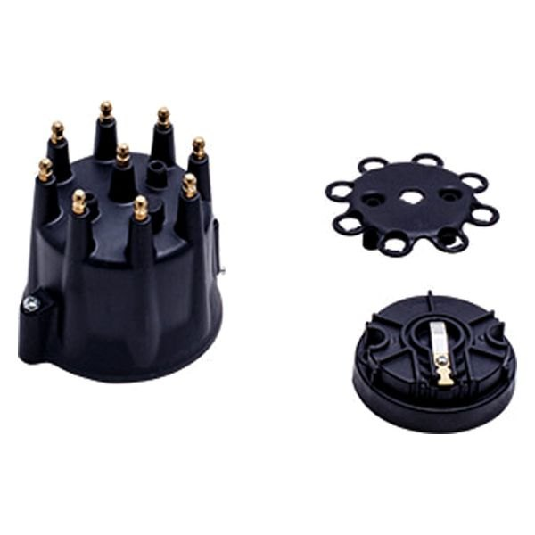 BTP® - Pro Series / Ready to Run / Pro Billet HEI Distributor Black Cap and Rotor