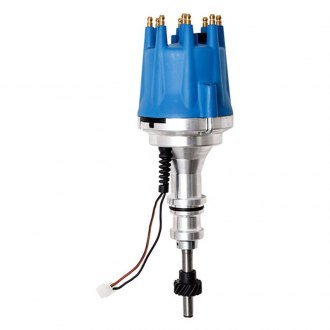 BTP® - Pro Series Pro Billet HEI Distributor with Blue Cap