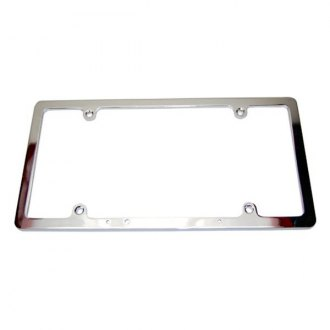 BTP® - Chrome Zinc Alloy License Plate Frame