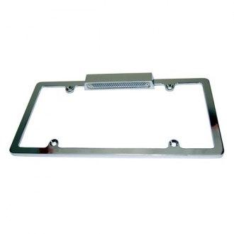 BTP® - Chrome License Plate Frame