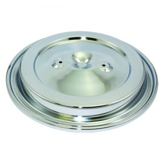 "BTP® - Chrome Steel Air Cleaner Assembly Top (15-3/8"")"