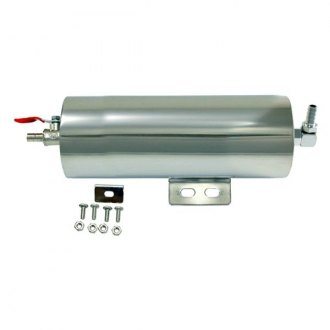 "BTP® - Polished Stainless Steel 3"" x 8"" Overflow Tank"