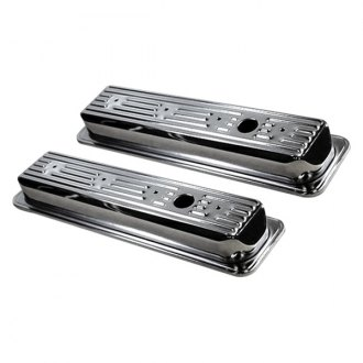 BTP® - Chrome Steel 1-Hole Valve Covers