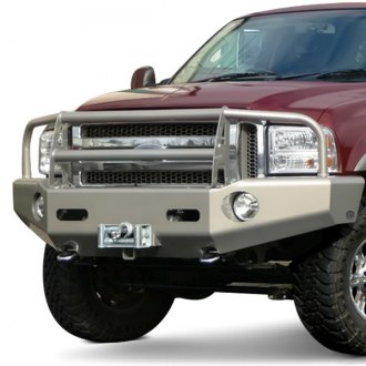 Buckstop® - Classic I™ Full Width Front Winch HD Bumper with Grille Guard