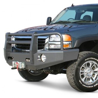Buckstop® - Outback™ Full Width Front Winch HD Bumper with Grille Guard