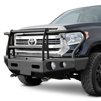 Buckstop® - Outback™ Full Width Front HD Bumper with Grille Guard