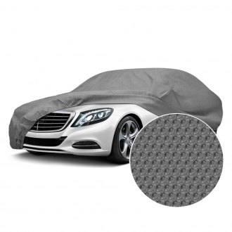 Budge® - Rain Barrier™ Gray Car Cover