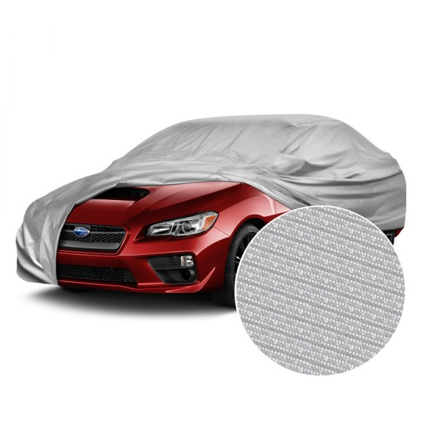 Image may not reflect your exact vehicle! Budge® - The Shield™ Gray Car Cover