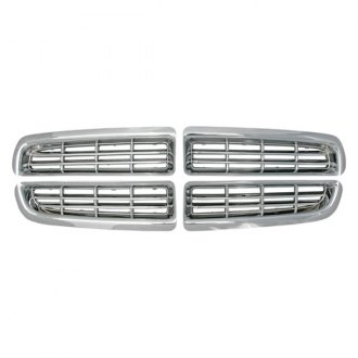 Bully® - 4-Pc Imposter Chrome Billet Main Grille