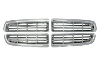Bully® - Imposter Chrome Plated ABS Plastic Billet Grille Overlay