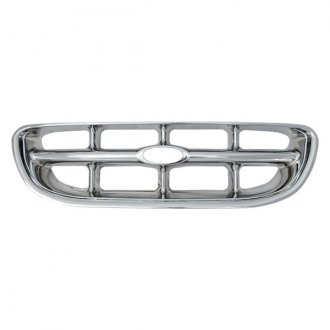 Bully® - 1-Pc Imposter Chrome Billet Main Grille