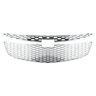 Bully® - 2-Pc Chrome Mesh Main Grille