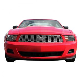 Bully® - 2-Pc Chrome Mesh Grille