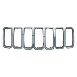 Bully® - 1-Pc Imposter Chrome Main Grille