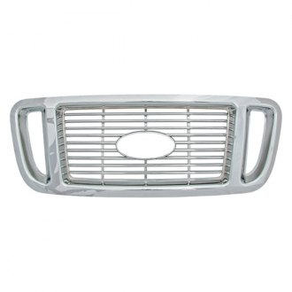 Bully® - Honeycomb Style Imposter Chrome Grille