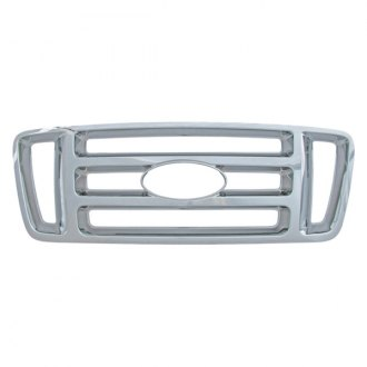 Bully® - 1-Pc Bar Style Imposter Chrome Main Grille
