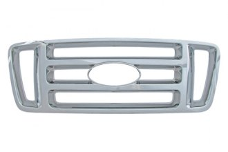 Bully® - Bar Style Imposter Chrome Plated ABS Plastic Billet Grille