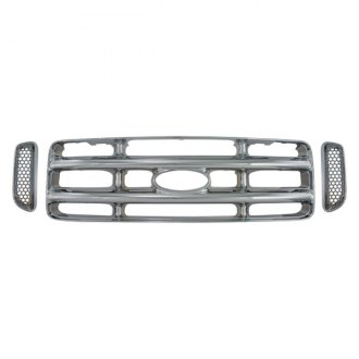 Bully® - 3-Pc Imposter Chrome Main Grille