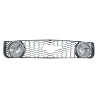 Bully® - 1-Pc Imposter Chrome Mesh Main Grille
