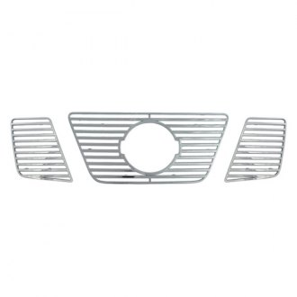 Bully® - 3-Pc Imposter Chrome Billet Grille