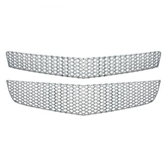 Bully® - 2-Pc Chrome Wire Mesh Main Grille