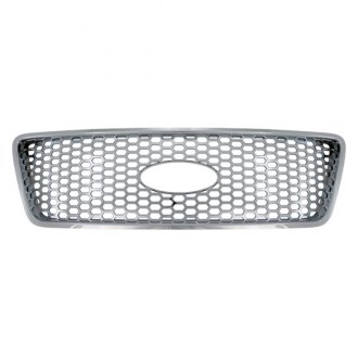 Bully® - 1-Pc Imposter Chrome Punch Main Grille