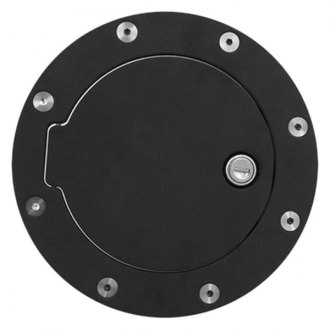 Bully® - Locking Black Powder Coat Gas Cap Cover