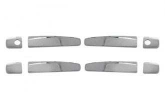 Bully® - Triple Chrome Plated ABS Plastic Door Handle Cover Kit