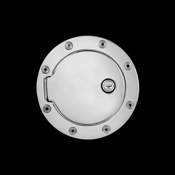 Bully® - Billet Aluminum Chrome Plated Fuel Door (with Lock)