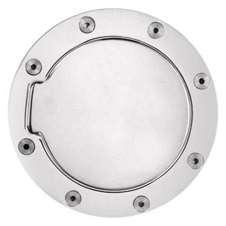 Pilot® - Non-Locking Chrome Gas Cap Cover