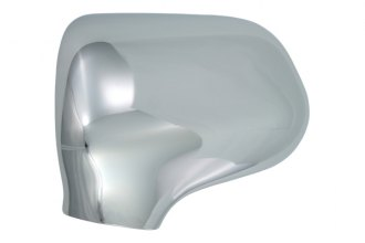 Bully® - Chrome Top Half Mirror Covers