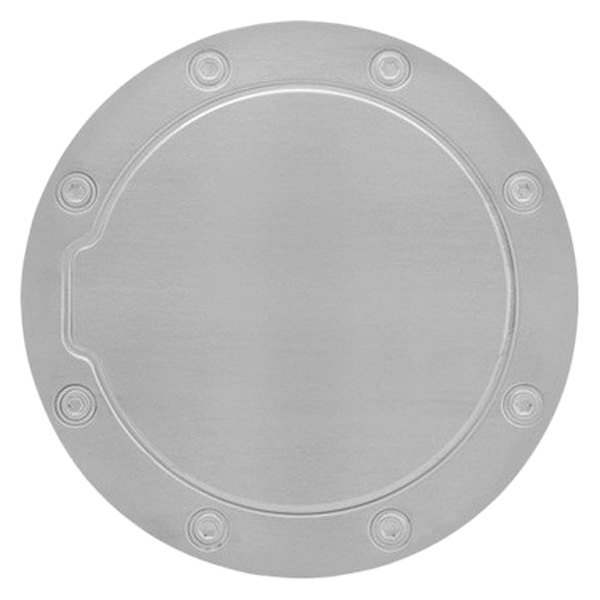 Bully ram stainless steel gas cap cover