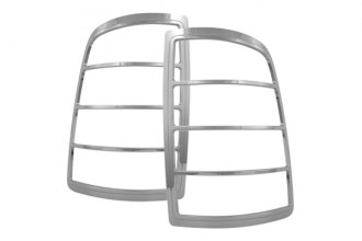 Bully® - Triple Chrome Plated ABS Plastic Tail Light Bezels