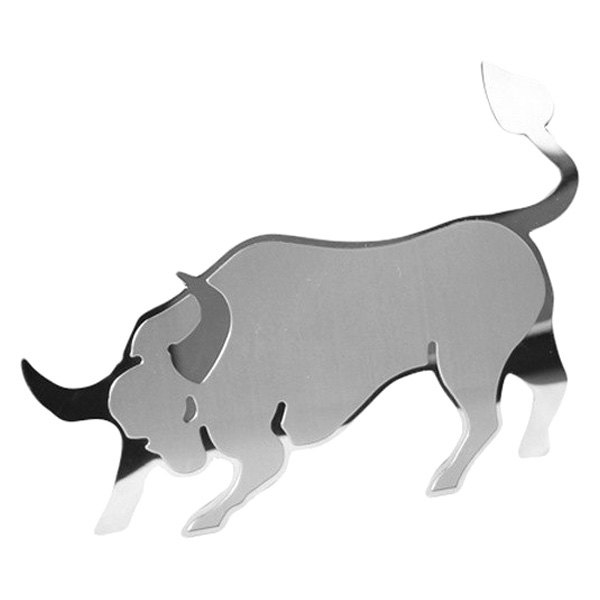 Bully® - Stainless Steel Charging Bull Dual Layer 3D Emblem