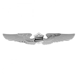 "Bully® - ""Wings and Crest"" Polished Dual Layer Emblem"