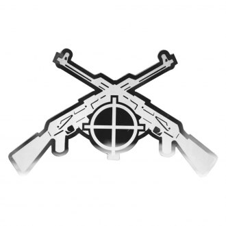 "Bully® - ""Rifle"" Polished Rifle Emblem"