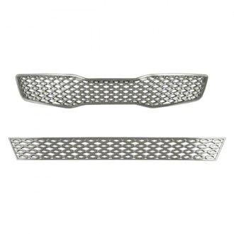 Bully® - Chrome Mesh Main and Bumper Grille Kit