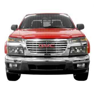 2005 gmc canyon custom grilles billet mesh led chrome. Black Bedroom Furniture Sets. Home Design Ideas