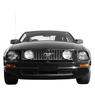 Bully® - 1-Pc Imposter Series Chrome Mesh Main Grille