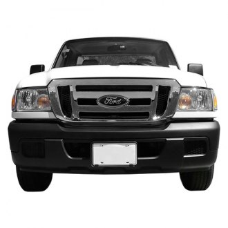 Bully® - 1-Pc Imposter Series Chrome Main Grille